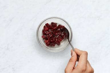 Marinate Cranberries