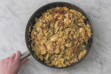 Stir in the Couscous