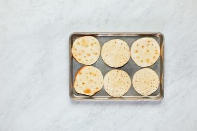 Toast Tortillas