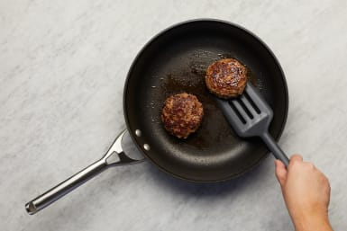 Cook Tomato and Patties