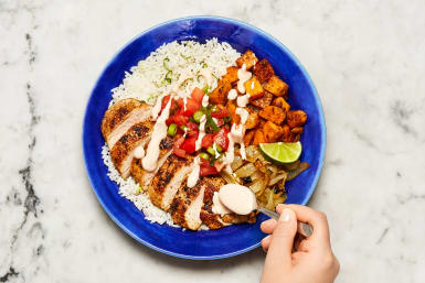 Make Salsa and Serve