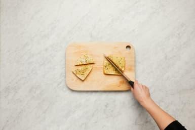 Make Garlic Toasts