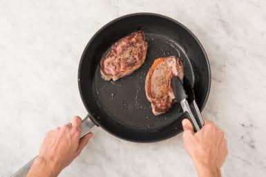 Fry the Steaks