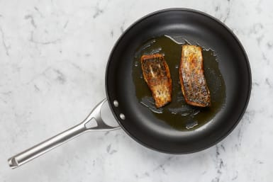 Toast Nuts and Cook Fish