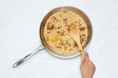 Brown Butter and Finish Risotto