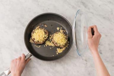 Cook the patties