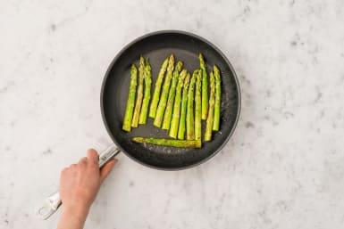Start the Asparagus