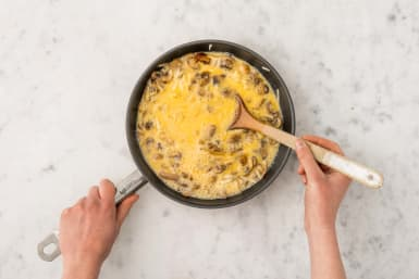 Add the Eggs