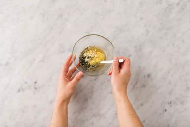 Make the honey mustard