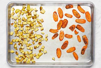 Roast Potatoes & Carrots