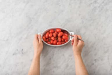 Cherrytomaten roosteren