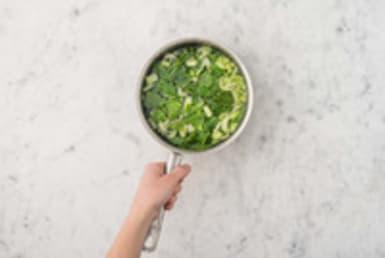 Cuire les légumes à l'eau