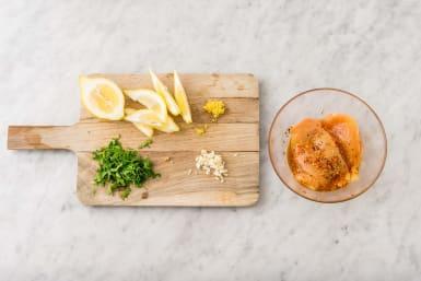 Förbered kyckling