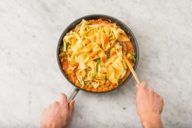 Blanda ner pasta