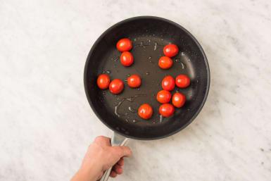 Faire sauter les tomates