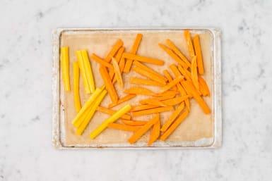 Préparer les frites