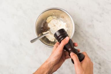 Préparer la vinaigrette