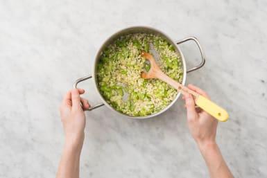 Cuire le riz à risotto