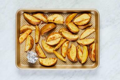 Roast Potatoes and Garlic