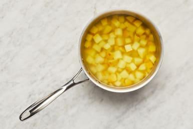 Cook Potatoes & Prep