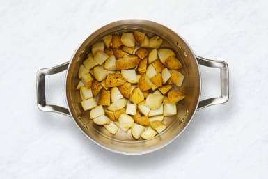 Prep and Cook Potatoes