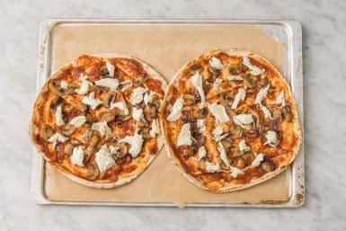 Pizza's maken