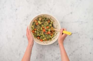 Salade maken