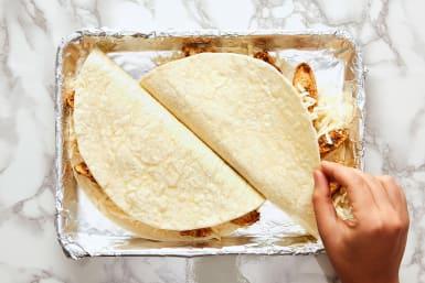 Assemble Quesadillas