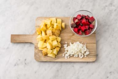 Förbered rotfrukter
