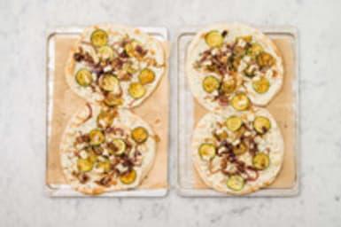 Pizza beleggen