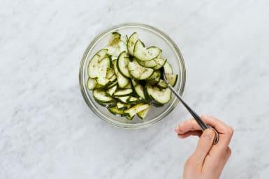 Make Cucumber Salad