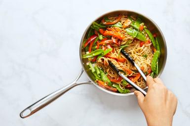 Cook Noodles & Make Stir-Fry