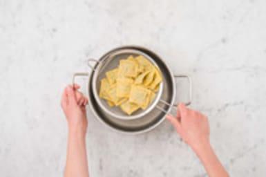 Ravioli koken