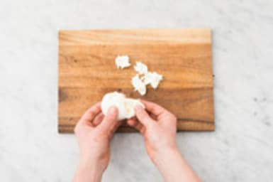 Mozzarella scheuren