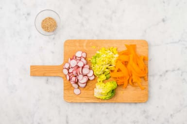 Prep the salad
