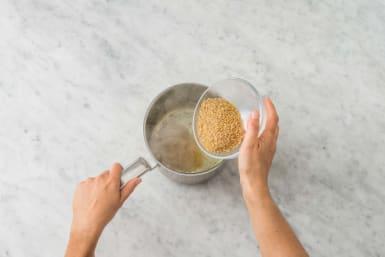 Cook the Bulgur
