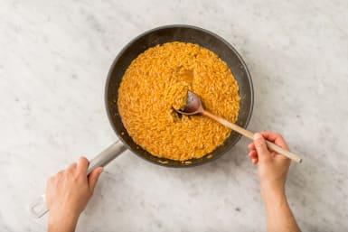 Orzo-Nudeln kochen