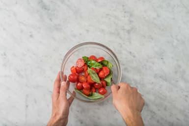 Préparer la salade
