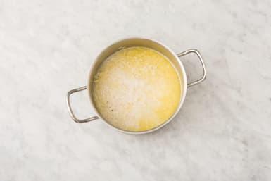Make the garlic rice