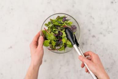 Faire la salade
