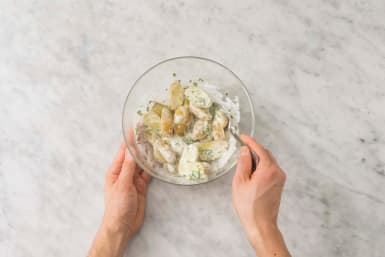 Blanda potatissallad