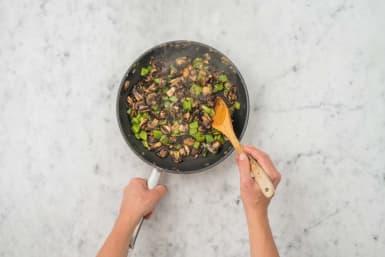 Ajouter les légumes
