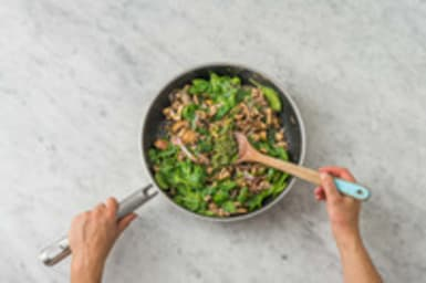 Apprêter la salade