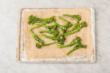 Enfourner les broccolini