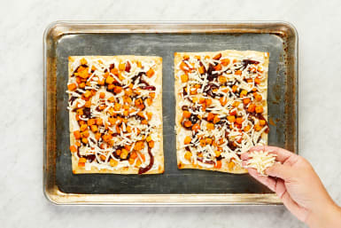 ASSEMBLE FLATBREADS