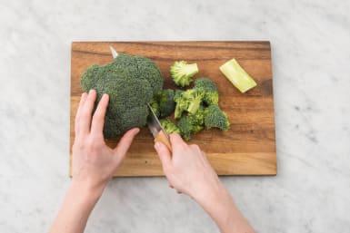 Couper le brocoli