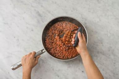 spiced beans