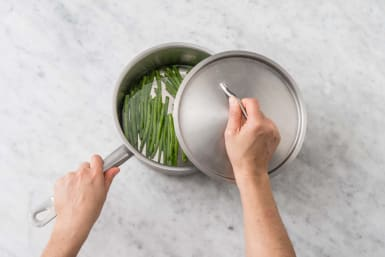 Sperziebonen koken