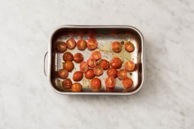 Rôtir les tomates cerises