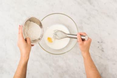Pfannkucchenteig zubereiten